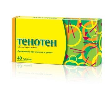 Тенотен цена в Томске от 259 руб., купить Тенотен, отзывы и инструкция по применению