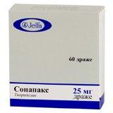 Сонапакс – инструкция по применению таблеток, отзывы, цена, аналоги