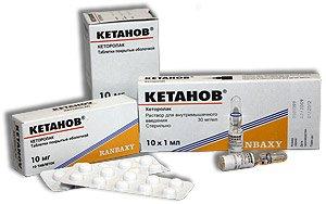 Кетанов инструкция по применению таблетки от головной
