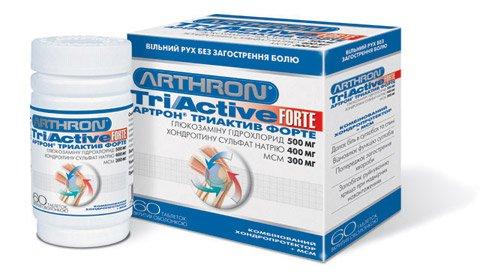 Инструкция по применению препарата Артрон триактив