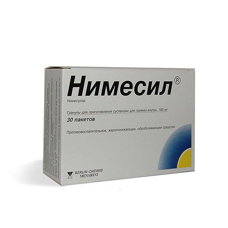 """Инструкция по применению порошка """"Нимесил"""""""