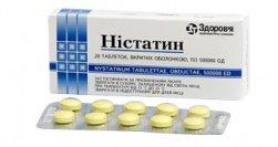 Инструкция таблетки нистатина