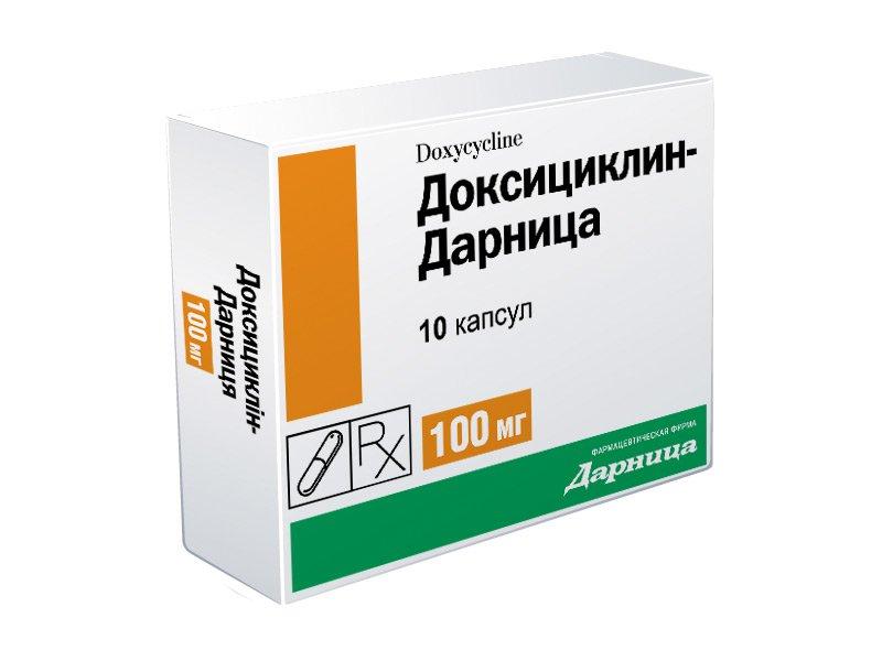 Доксициклин мазь инструкция по применению