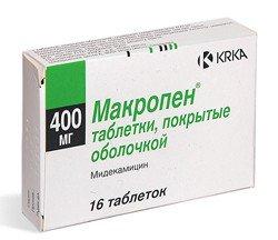 Макропен – инструкция по применению, дозы, показания