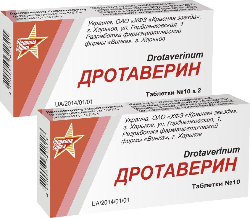 Таблетки дротаверин от чего и их применение