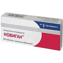 новиган инструкция по применению таблетки