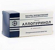 Аллопуринол инструкция по применению побочные действия отзывы