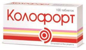 Колофорт – инструкция по применению, отзывы, цена, аналоги таблеток