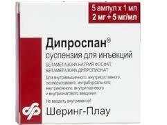 Дипроспан - инструкция, применение, цена