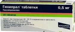 ГИНИПРАЛ, таблетки - инструкция по применению, описание, дешевые аналоги, побочные эффекты и противопоказания