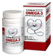 Витрум кардио ОМЕГА-3 цена в Томске от 441 руб., купить Витрум кардио ОМЕГА-3, отзывы и инструкция по применению