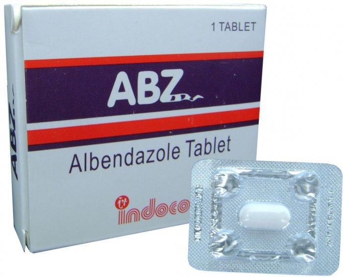 Альбендазол применение для людей