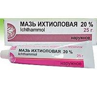 Ихтиоловая мазь купить, цена на Ихтиоловая мазь в Москве от 52 руб., инструкция по применению, отзывы.