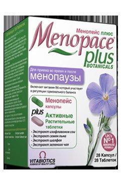 Особенности состава и приема таблеток Менопейс, препарата Менопейс Плюс согласно инструкции по применению