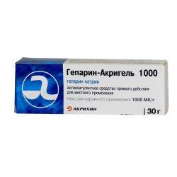ГЕПАРИН-АКРИГЕЛЬ 1000