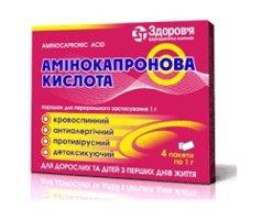Аминокапроновая кислота инструкция по применению, цена на Аминокапроновая кислота купить в Москве от 58 руб., аналоги, отзывы. Аптека Горздрав
