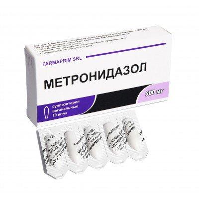 Свечи метронидазол от чего — parazit24