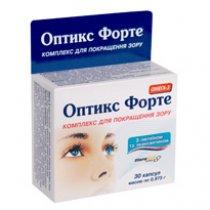 витамины оптикс форте инструкция