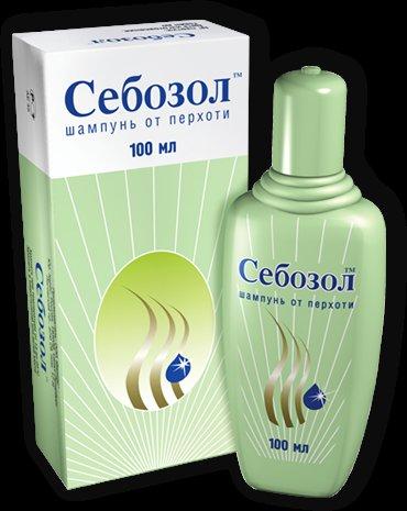 Себозол шампунь применение