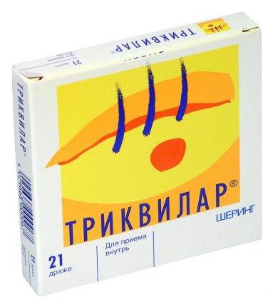 Противозачаточные таблетки триквилар