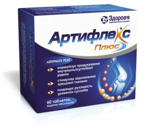Применение лекарства Артифлекс при болезнях суставов