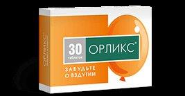 Орликс – инструкция по применению таблеток, цена, отзывы, аналоги