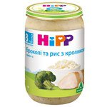 БРОККОЛИ И РИС С КРОЛИКОМ HIPP