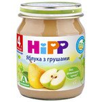 ФРУКТОВОЕ ПЮРЕ ЯБЛОКИ С ГРУШАМИ HIPP