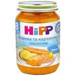 МОРКОВЬ И КАРТОФЕЛЬ С ЛОСОСЕМ HIPP