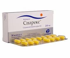 Спарекс − инструкция по применению лекарства, цена, отзывы, аналоги