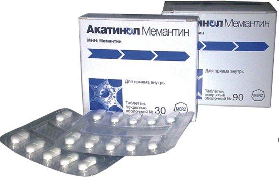 Акатинол мемантин по выгодной цене Акатинол мемантин купить в Москве, инструкция по применению, аналоги, отзывы