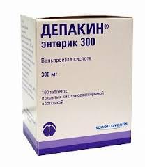 ДЕПАКИН ЭНТЕРИК 300