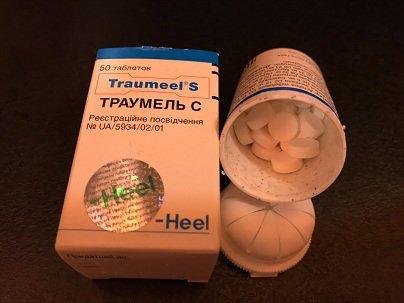 Таблетки Траумель С при остеохондрозе