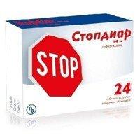 Стопдиар инструкция по применению таблетки 100