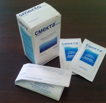 Смекта - препарат от диареи