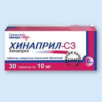 Состав показания дозировка препарата Хинаприл