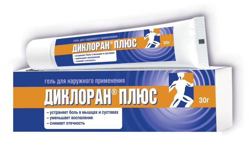 Применение геля Диклоран Плюс для лечения суставов