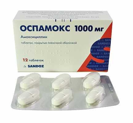 ОСПАМОКС: инструкция, отзывы, аналоги, цена в аптеках