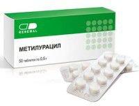 Метилурацил – инструкция по применению, показания, дозы, аналоги