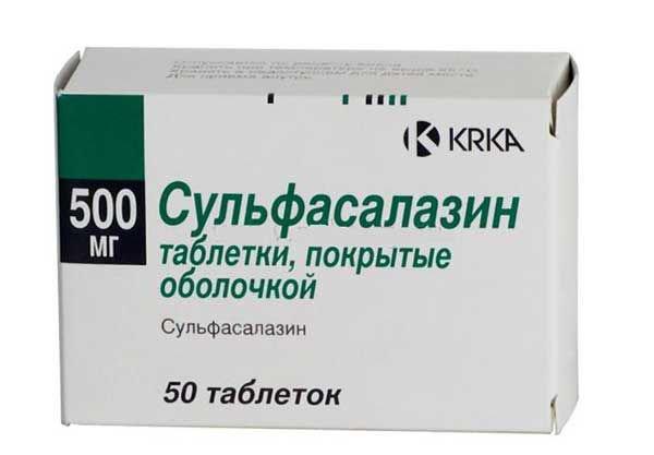 Сульфасалазин инструкция по применению цена отзывы больных аналоги и побочные действия