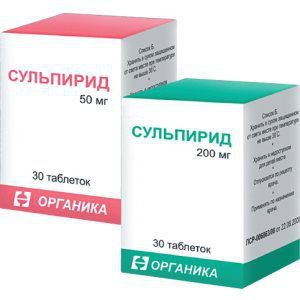Сульпирид – инструкция по применению, дозы, показания
