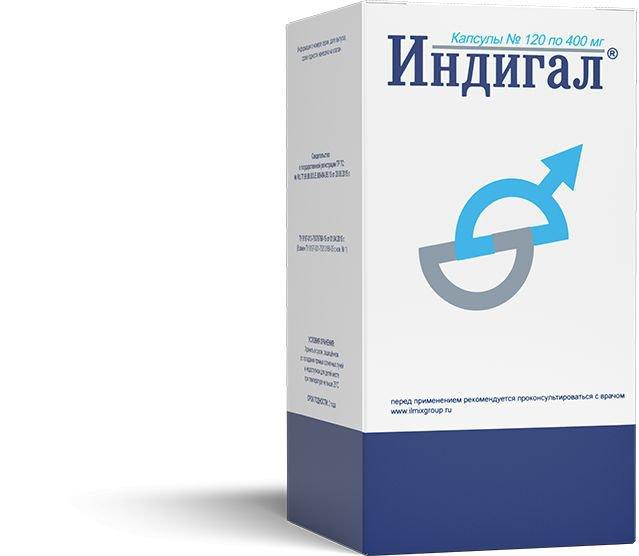 Индигал лекарство для лечения аденомы простаты