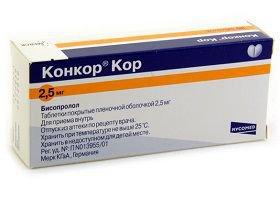 Конкор Кор особенности препарата
