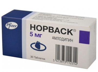 Норваск цена в Томске от 268 руб., купить Норваск, отзывы и инструкция по применению