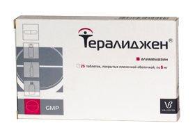 Тералиджен таблетки инструкция по применению