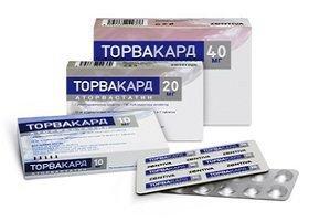 ТОРВАКАРД таблетки от холестерина стоит ли их принимать, аналоги