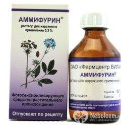 Аммифурин – инструкция по применению, показания, дозы, аналоги