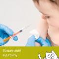 Бронювання вакцин від грипу