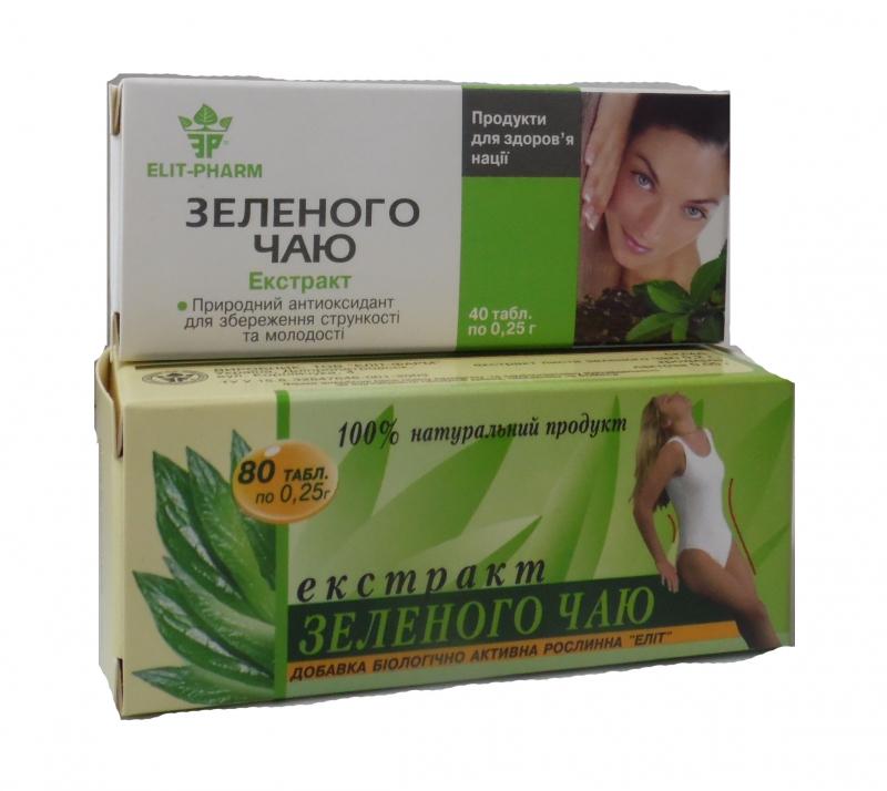 экстракт зеленого чая для похудения отзывы эвалар