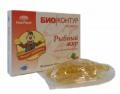 """Рыбный жир """"БиоКонтур"""" с экстрактом боярышника БАД 100 капсул фото"""